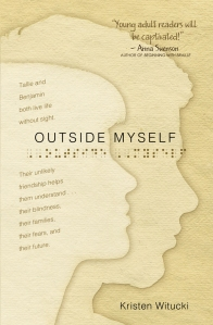 "Book cover for ""Outside Myself"" by Kristen Witucki"